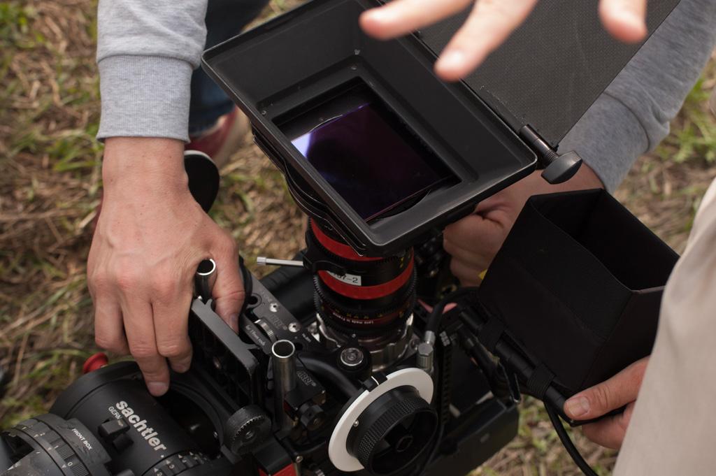 камера в поле